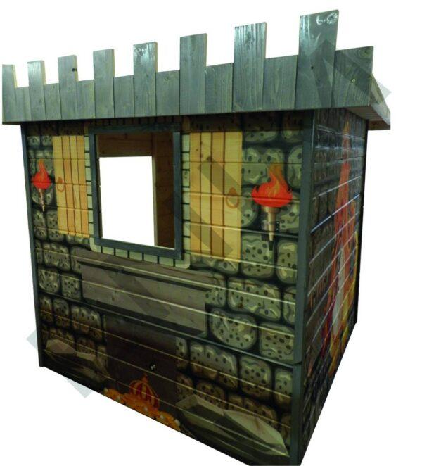 Drevený domček Drak - Enim