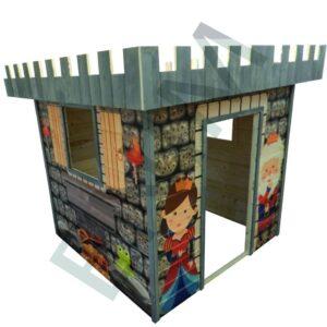 Fa játszóház gyerekek részére SÁRKÁNY 1,5 m x 1,5 m