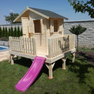 .Fa játszóház gyerekek részére OLIVIA 1,8 m x 2,2 m