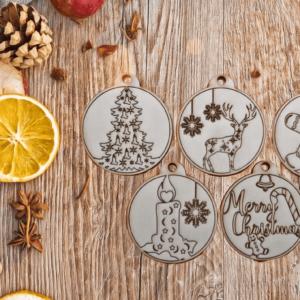.Karácsonyfa díszek – I. mini szett