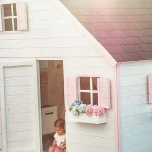 .Fa játszóház gyerekek részére GLÓRIA-emeletes